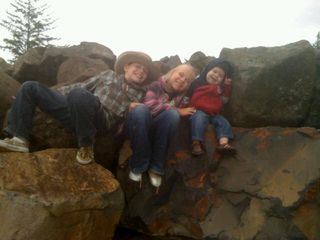 Kids and rock